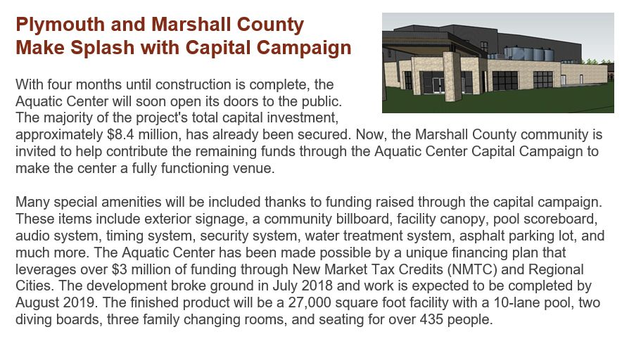 Marshall County Aquatic Center